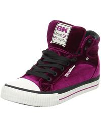 British Knights - Dee Women's Shoes (high-top Trainers) In Purple - Lyst