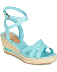 859bbee0af70 Tommy Hilfiger - Elba 60c Women s Sandals In Blue - Lyst