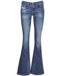 DIESEL - EBBEY femmes Jeans en bleu - Lyst