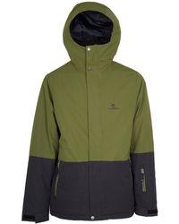 Rip Curl - Veste Enigma Men's Jacket In Green - Lyst