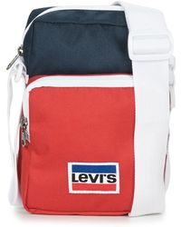 Levi's - Levis Olympic Crossbody Men's Pouch In Blue - Lyst