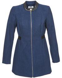Vero Moda - Capella Women's Coat In Blue - Lyst