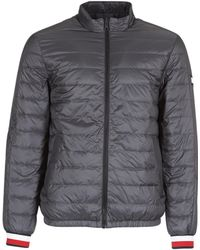 Tommy Hilfiger - Reversible Nylon Down Men's Jacket In Black - Lyst