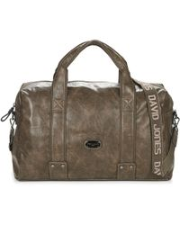 David Jones - Oviata Men's Travel Bag In Brown - Lyst