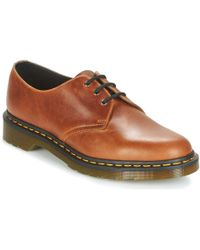 Dr. Martens | 1461 Men's Casual Shoes In Brown | Lyst