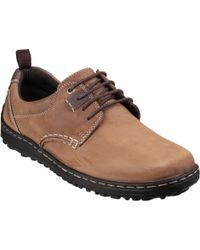 Hush Puppies - Belfast Oxford_pt Men's Safety Boots In Brown - Lyst