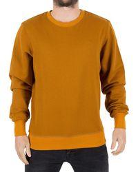 G-Star RAW - Men's Core Logo Sweatshirt, Orange Men's Jumper In Orange - Lyst