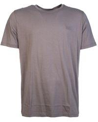 BOSS Black - By Boss T Shirt Model Quot;dero 50378595 Quot; Men's T Shirt In Brown - Lyst