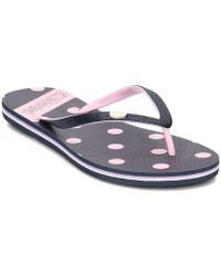 Pepe Jeans - Pls70033 Women's Flip Flops / Sandals (shoes) In Black - Lyst