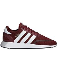 f96c81ec4fca15 Adidas Originals Zx Flux Men s Shoes (trainers) In Red in Red for ...