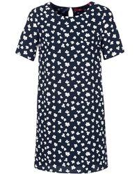 S.oliver - Felmigua Women's Dress In Blue - Lyst