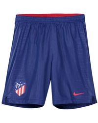 Nike - 2018-2019 Atletico Madrid Home Football Shorts (kids) Men s Shorts In cfdaa0b3f60d0