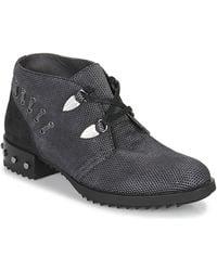 Mam'Zelle - Xesto Women's Mid Boots In Black - Lyst