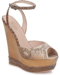 Sebastian - S5203 Women's Sandals In Brown - Lyst