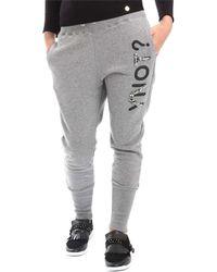 Y Not? - ? Y17ai027 Trousers Women Grey Women's Sportswear In Grey - Lyst
