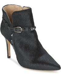 Fericelli - Paletta Women's Low Ankle Boots In Black - Lyst