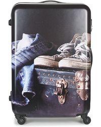 David Jones - Achidata 116l Women's Hard Suitcase In Multicolour - Lyst