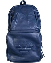 c1f361019f1c Armani Jeans - Ruck Sack And Shoulder Bag In One 932180 7a937 Men s Backpack  In Blue