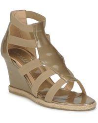 Amalfi by Rangoni - Lema Women's Sandals In Brown - Lyst