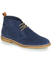 9fe51dfb16e Clarks Kenley Mid Ankle Boots in Blue for Men - Lyst
