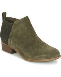 TOMS - DEIA femmes Boots en Vert - Lyst