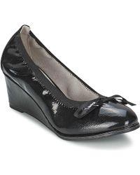 Les P'tites Bombes - Austine Vernis Women's Court Shoes In Black - Lyst