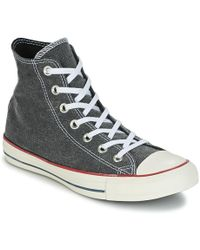 89cb0827d716 Converse - Chuck Taylor All Star Hi Stone Wash Women s Shoes (high-top  Trainers