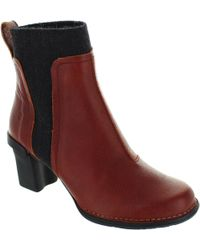 El Naturalista - N5142 Women's Low Ankle Boots In Red - Lyst