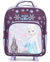 Disney - Reine Des Neiges Sac A Dos Trolley 35cm Girls's Children's Rucksack In Purple - Lyst