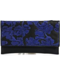 Byblos Blu - 665441 Clutch Accessories Black Women's Clutch Bag In Black - Lyst