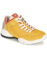 1fa094523a7 Geox D52f2a 00021 Sneakers Women Red Women's Walking Boots In Red in ...