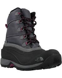 The North Face - W Chilkat Iii Nyl Eu Zin Women's Walking Boots In Black - Lyst