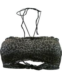 Carla Bikini - Black Bandeau Swimsuit Jetset Sauvage Women's Mix & Match Swimwear In Black - Lyst