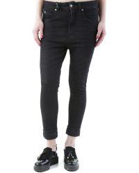 Sexy Woman - Gr_72985 Women's Skinny Jeans In Black - Lyst