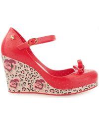 Zaxy - 81608 Popstar Queen Fem Red Women's Court Shoes In Red - Lyst