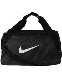 Nike - Brasilia 6 Duffel Grip S Men's Sports Bag In White - Lyst
