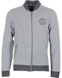 29198e10840b Bench - Reversible Bonded Bomber Sweat Jkt Men s Jacket In Grey - Lyst