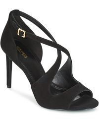 MICHAEL Michael Kors | Estee Women's Sandals In Black | Lyst
