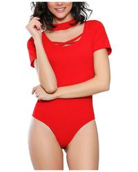 Infinie Passion - Red Sexy Body 00w060910 Women's In Red - Lyst