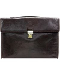 Time Resistance - Moonheart Women's Briefcase In Brown - Lyst