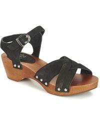 Le Temps Des Cerises | Kota Women's Sandals In Black | Lyst