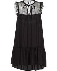 Volcom - Seay'around Dress Women's Dress In Black - Lyst