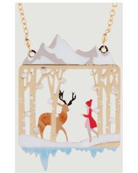 N2 - Snow Queen Necklace 47668 Gold Women's Necklace In Gold - Lyst