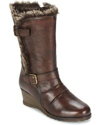 Lotus - Krissy Women's High Boots In Brown - Lyst