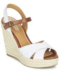 Pepe Jeans - Walker Romantic Women's Sandals In White - Lyst