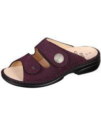 Finn Comfort - Sansibar Grape Mambo Women's Mules / Casual Shoes In Multicolour - Lyst