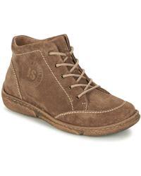 Josef Seibel - Neele 01 Women's Mid Boots In Brown - Lyst