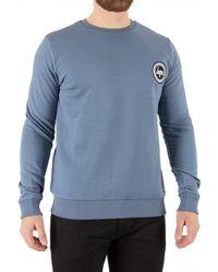 Hype Men's Crest Sweatshirt, Blue Men's Jumper In Blue