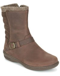 Teva - Nopal Mid Wp Women's Mid Boots In Brown - Lyst