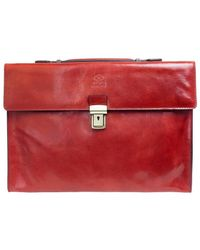 Time Resistance - Moonheart Men's Briefcase In Red - Lyst